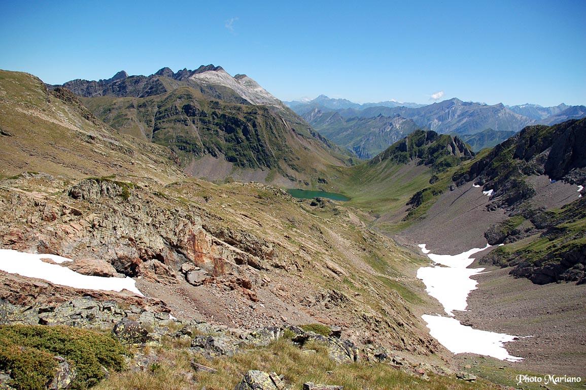 Retour par les Lacs Lavedan et Uzious