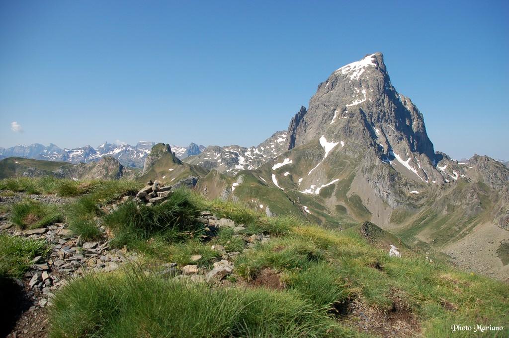 Randonnée Pics Lavigne 2018m, Chérue 2195m et Saoubiste 2261m