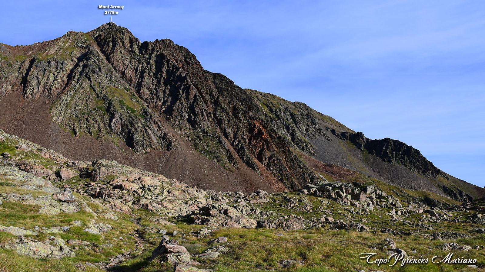 Randonnée Pic Arrouy 2778m