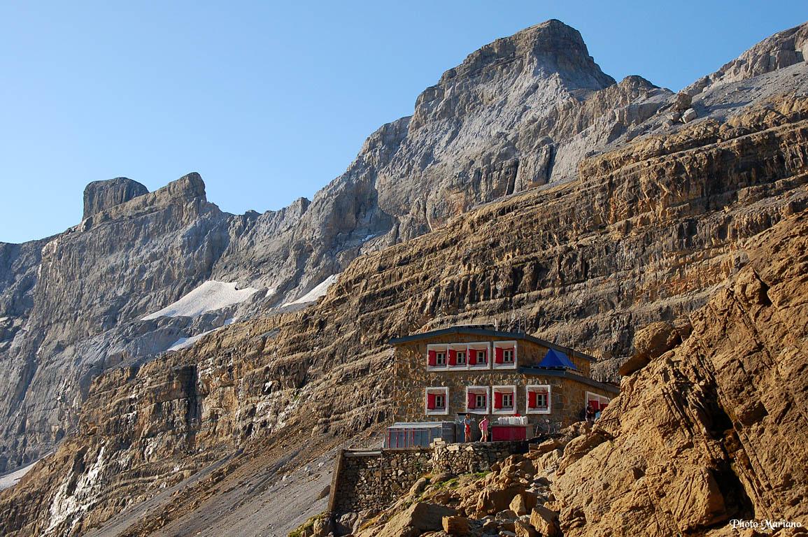 Randonnée Casque (3006m) et Tour du Marboré (3009m)