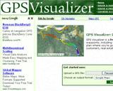 Gps Visualizer (Tous les outils pour le GpsVisualisez vos traces sur le Net en 2D/3D)