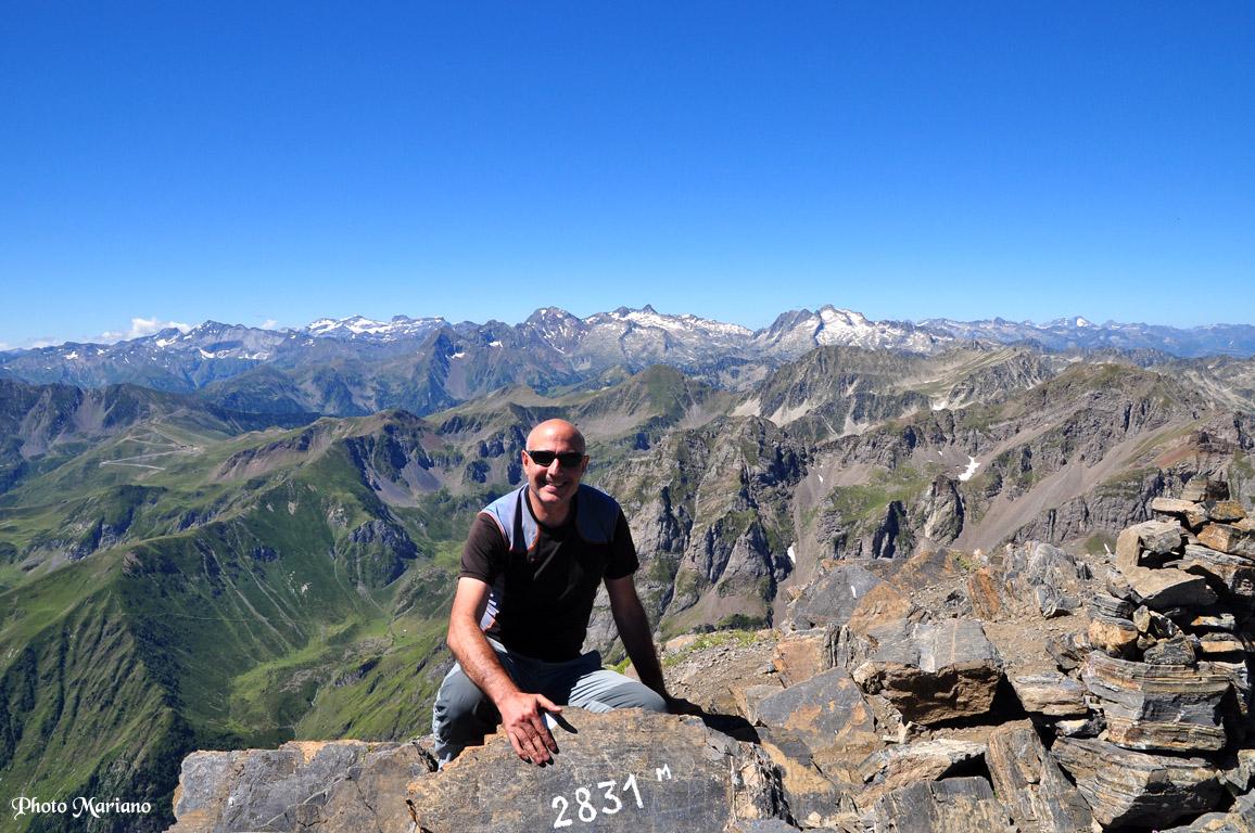 Randonnée pic d'Arbizon 2831m