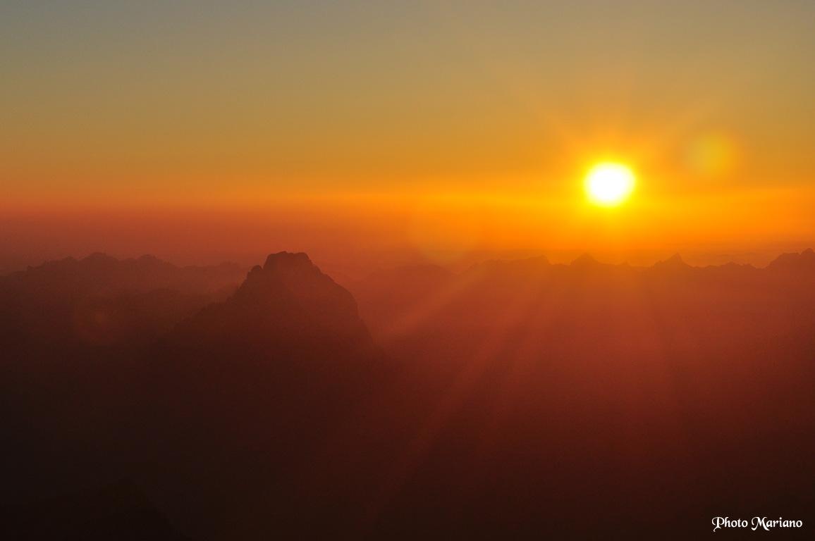 Randonn e balaitous 3144m avec bivouac au sommet les - A quelle heure le soleil se couche aujourd hui ...