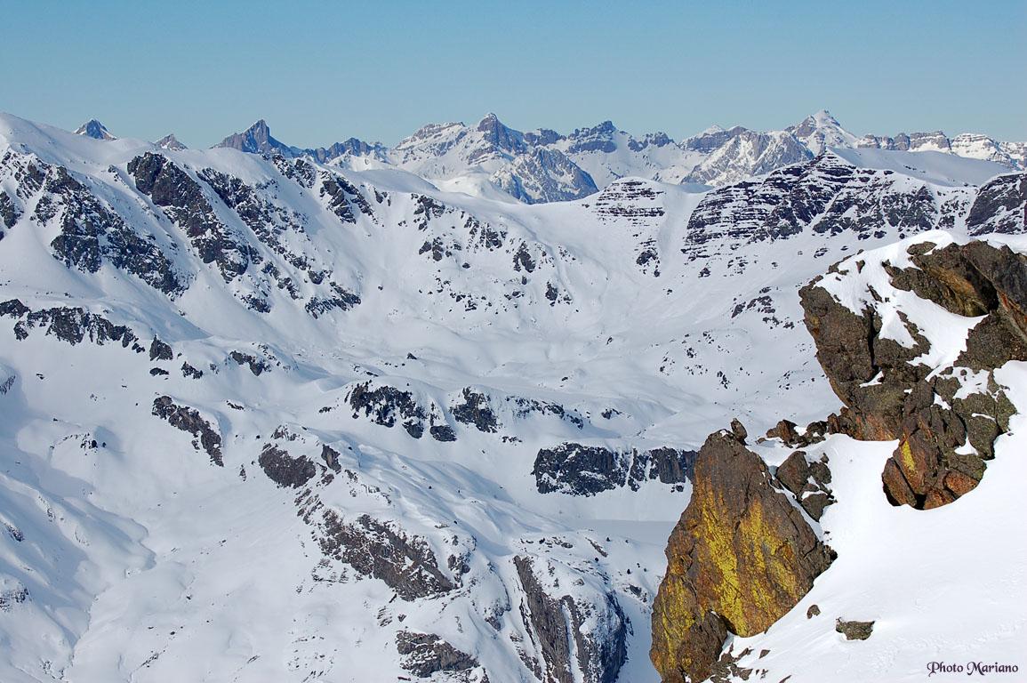 Raquettes Pic de Peyreget 2487m