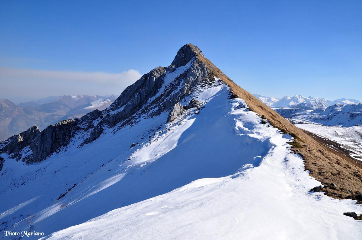 Randonnée Rocher d'Aran 1796m et Pic de l'Ourlenotte 1806m