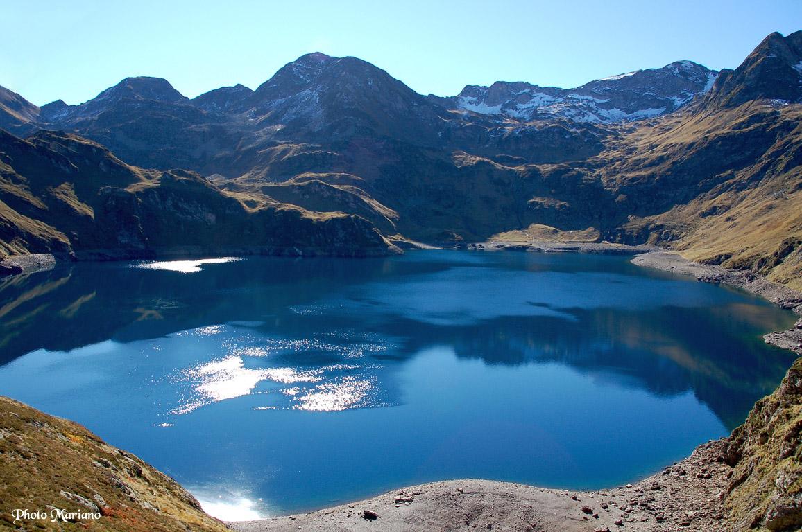Randonnée Lac Bleu 1968 et Pic Bizourtère 2311m