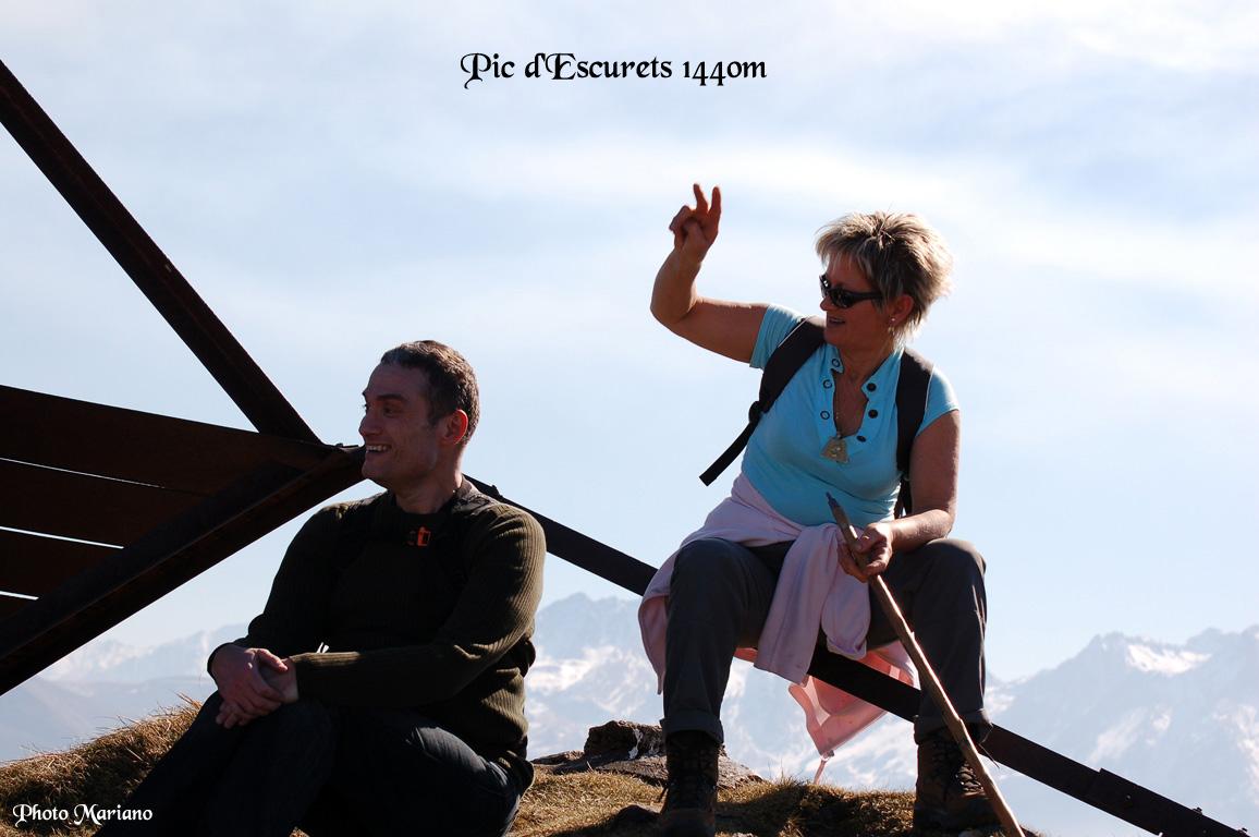 Randonnée Pic d'Escurets 1440m (col)