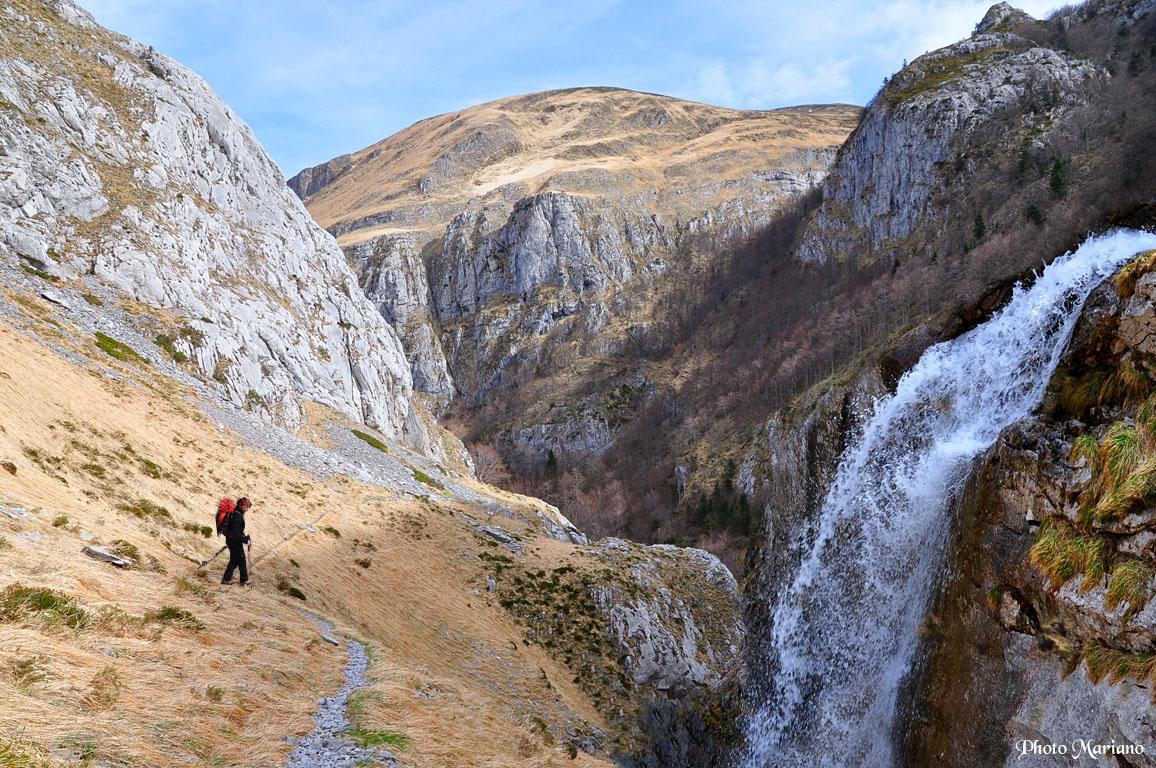 Randonnée Canyon d'Ehujarré en boucle par Utzigagna 1618m