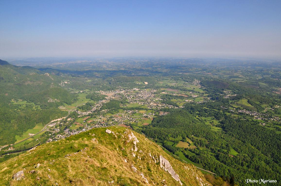 Randonn e montagne du rey 1349m par le versant sud les Piscine oloron sainte marie
