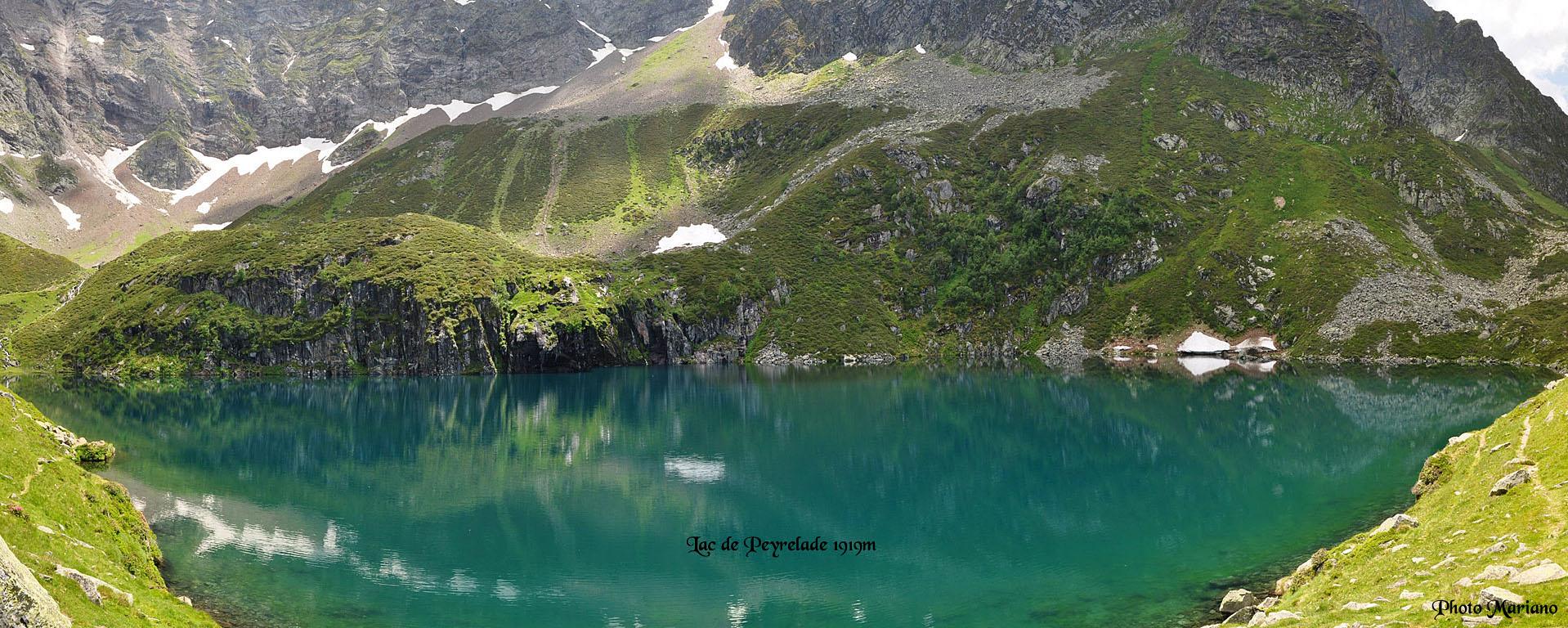 Randonnée Lac de Peyrelade 1919m et Cap de Labasset 2038m