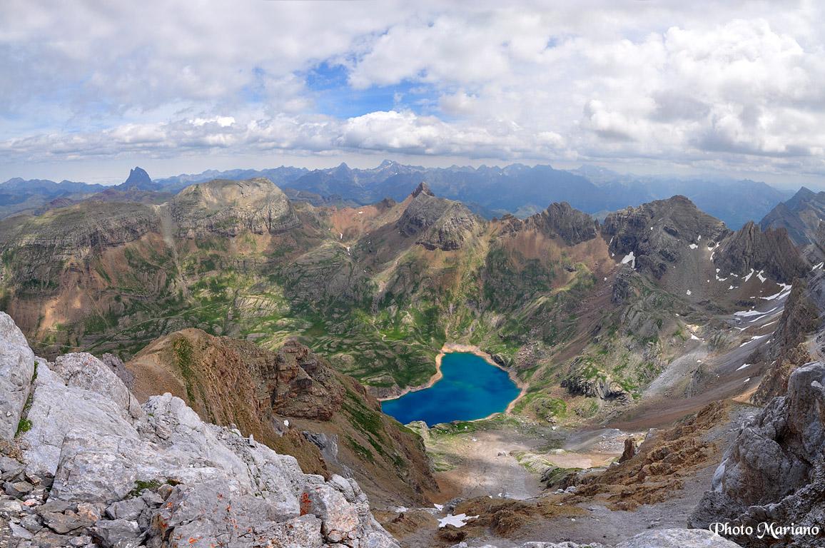 Randonnée Pena Collarada 2886m