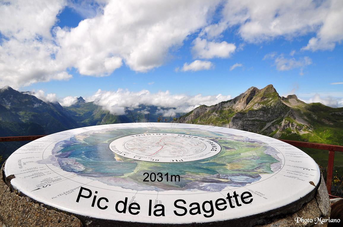 Randonnée Pic de la Sagette 2031m