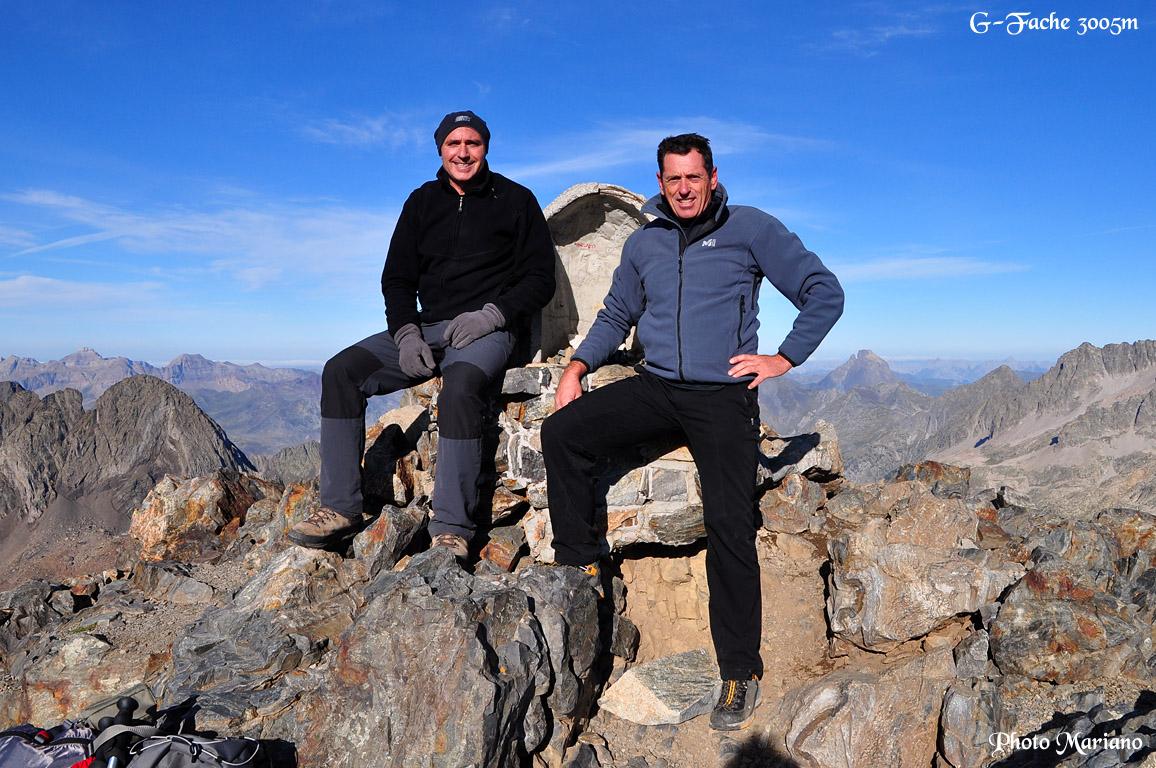 Randonnée la Grande Fache 3005m