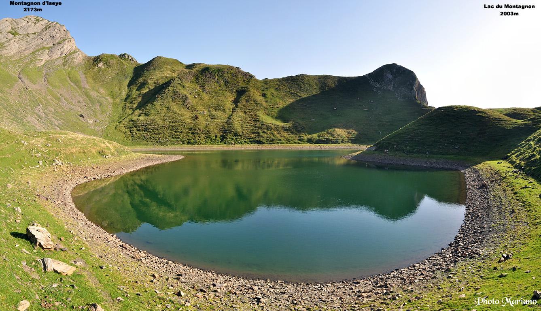 Lac du Montagnon 2003m