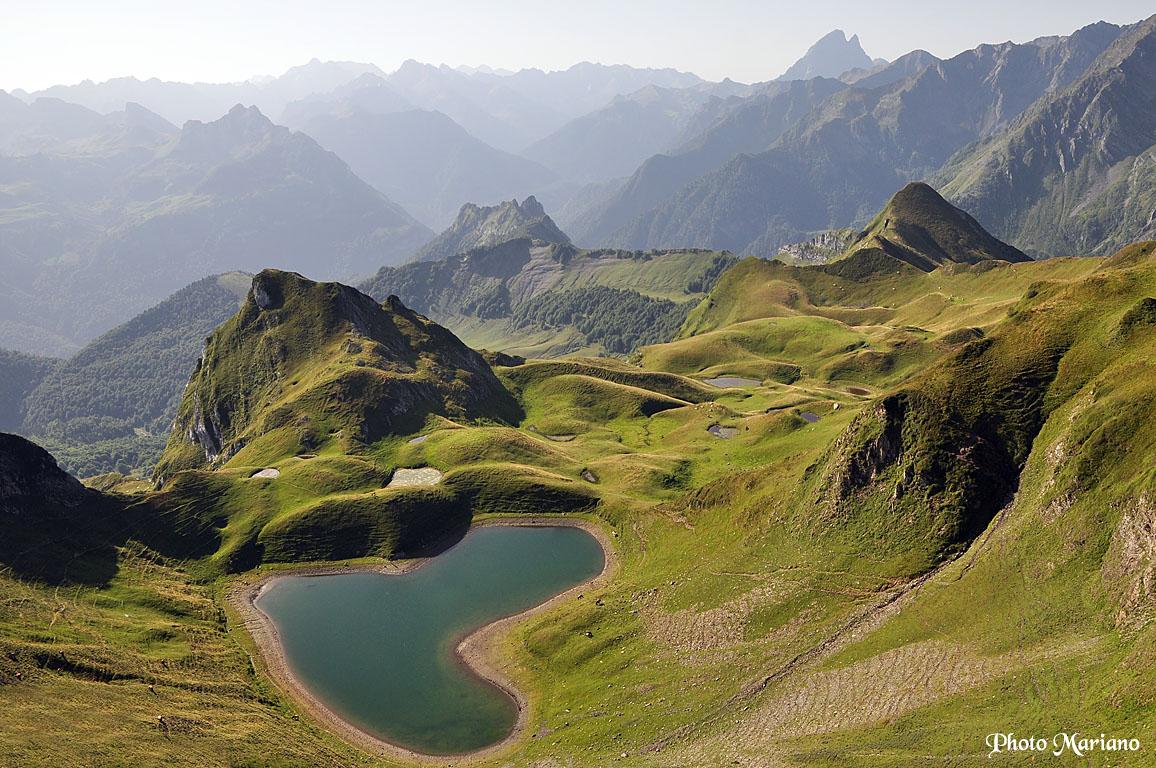 Randonnée lac du Montagnon 2003m – Pic Mardas  2188m – pic Montagnon d'Iseye 2173m