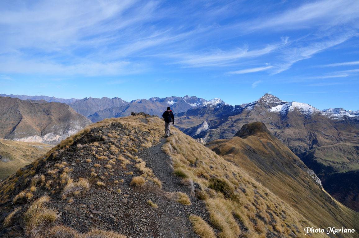 Randonnée Pic Mourgat (2103m), pic de la Pahule (2292m) et pic des Tentes (2322m)