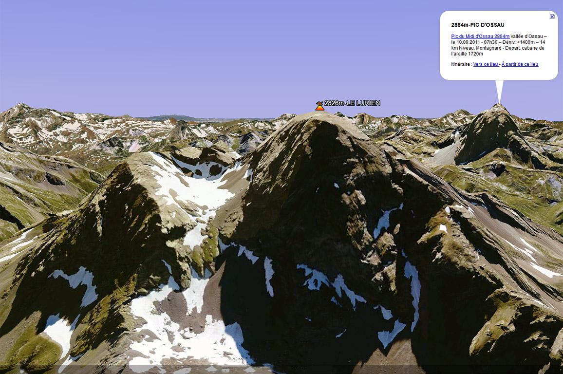 Les Pyrénées en 3D