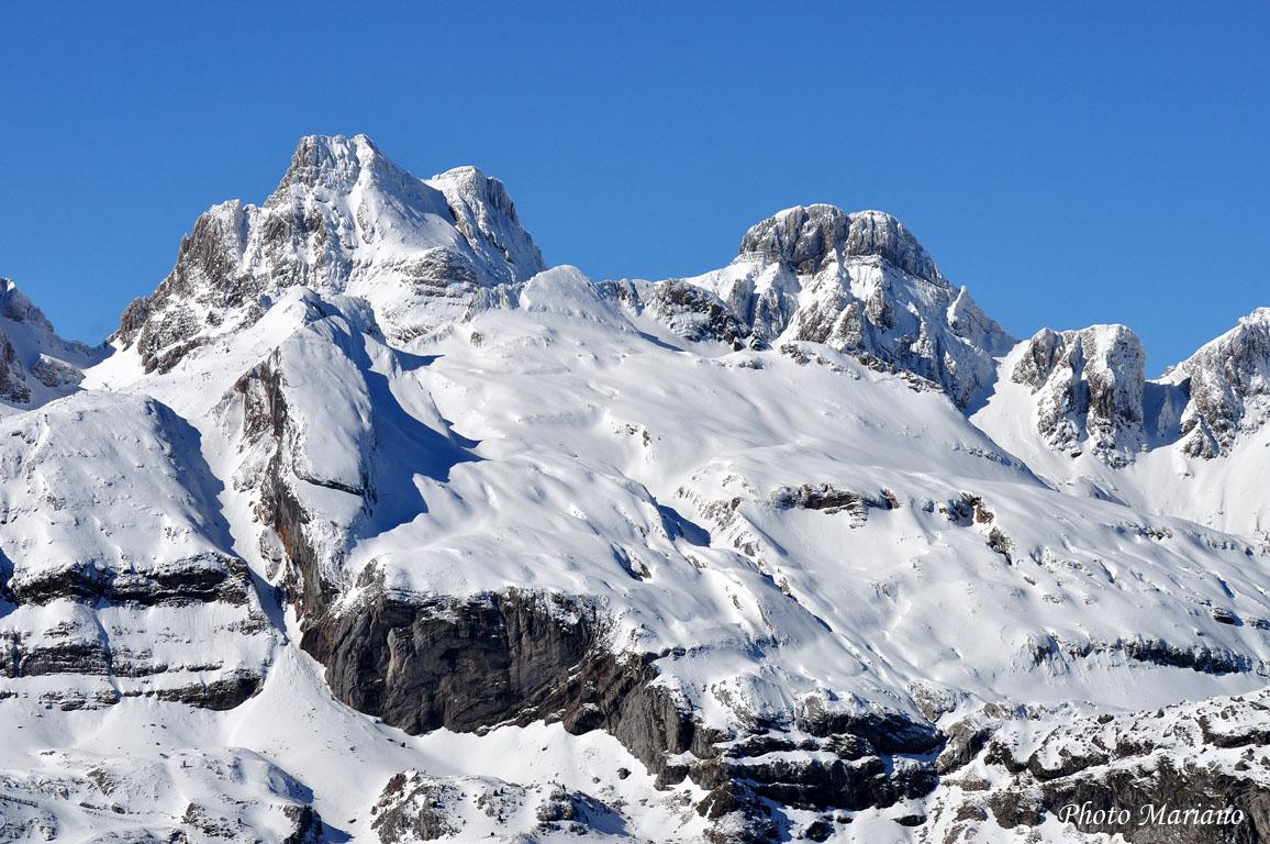 Raquettes Monte Astun et Pic d'Arnousse 2141m