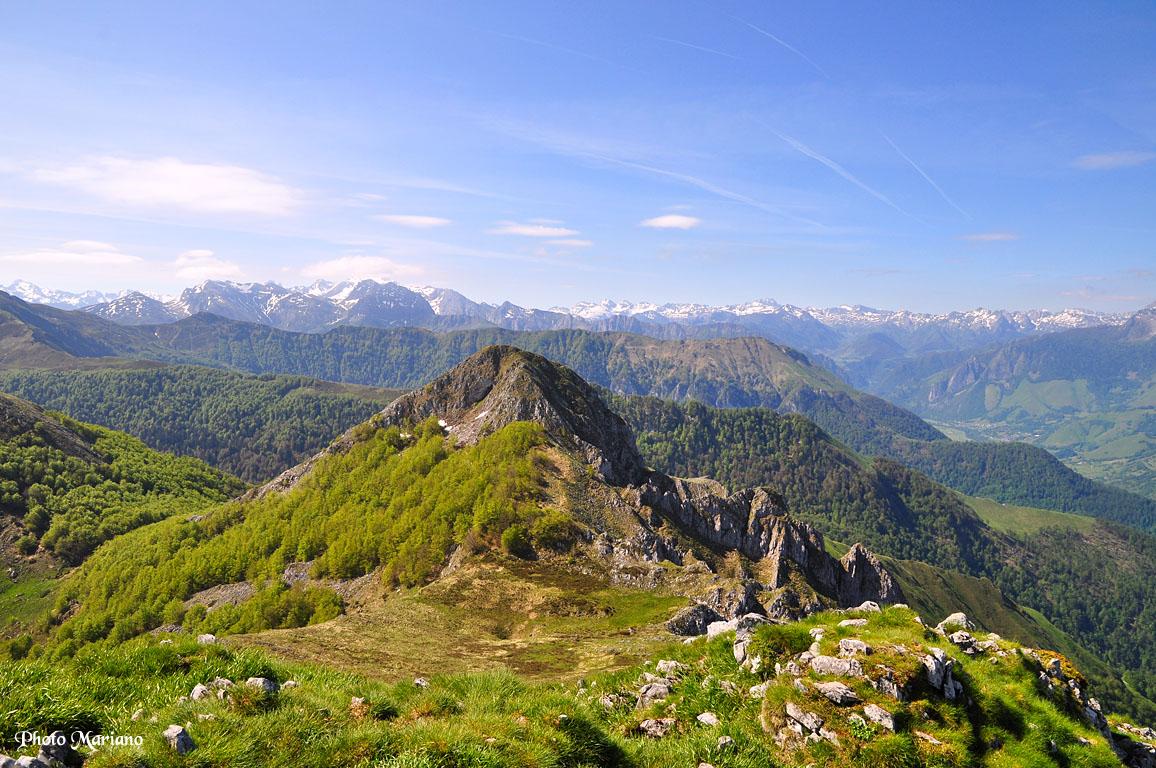 Randonnée Pic Roumendarès 1646m