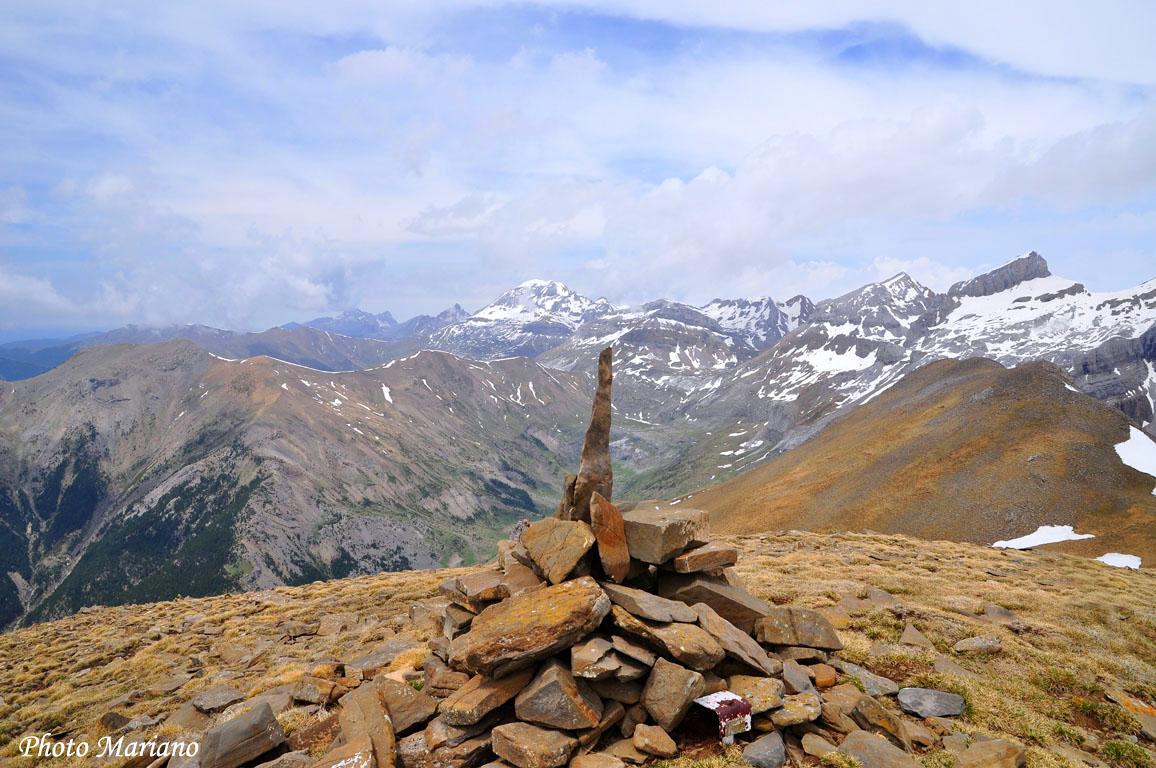 Randonnée Pic de la Magdalena 2283m