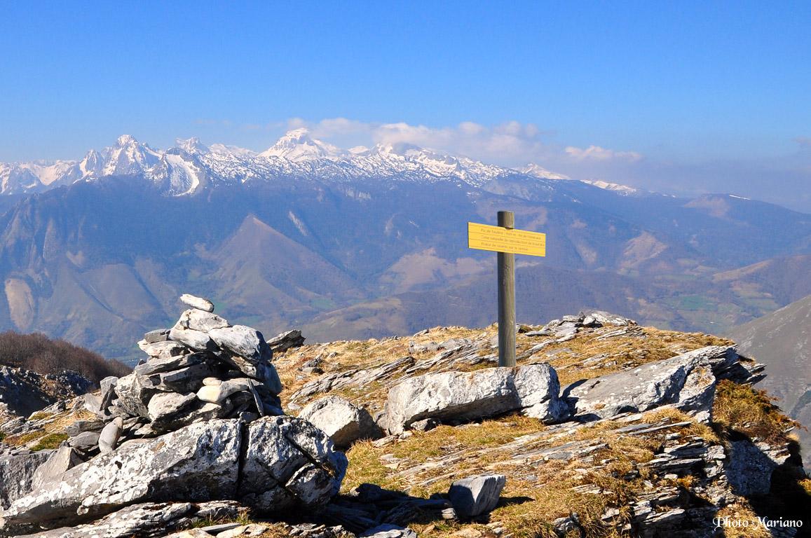 Randonnée Pic de Teulère 1565m