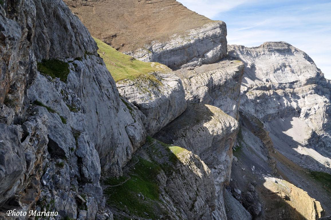 Randonnée Punta Escuzana 2847m en boucle