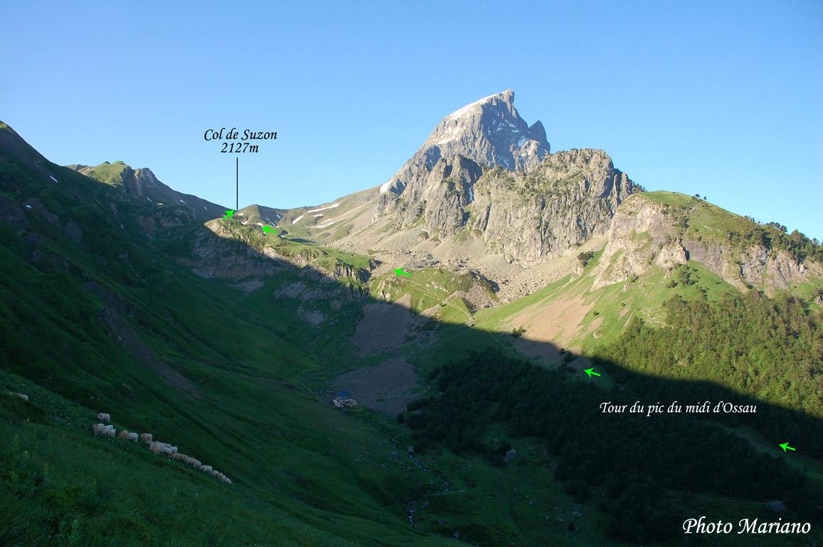 Randonnée Tour de l'Ossau 2208m