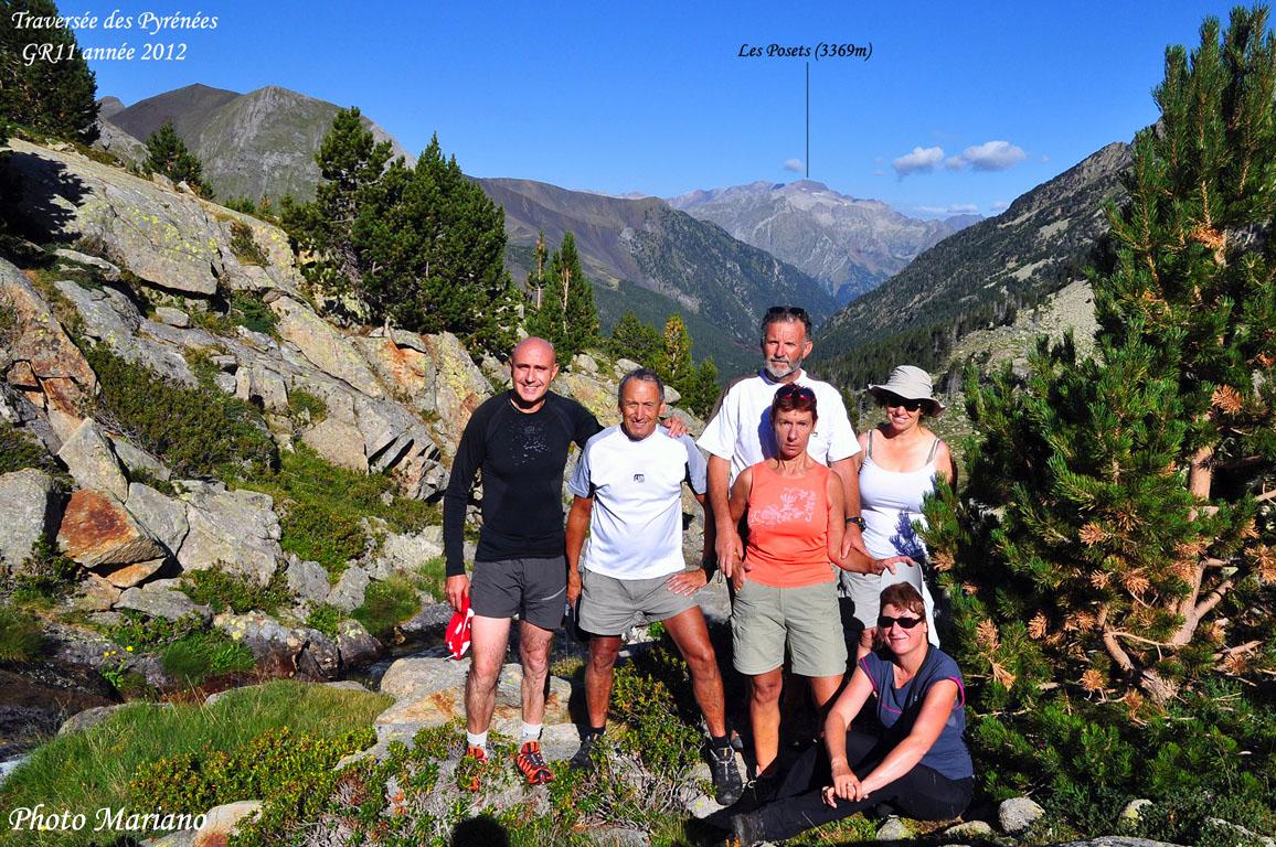 Traversée des Pyrénées 19em Etape (Bénasque – Refuge Anglios)