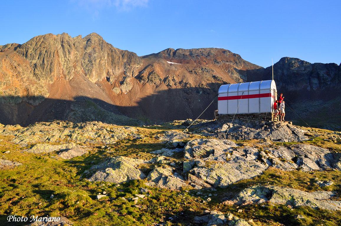 Traversée des Pyrénées 25em Etape (Camping pica d'Estats Areu – Refuge Baiau)