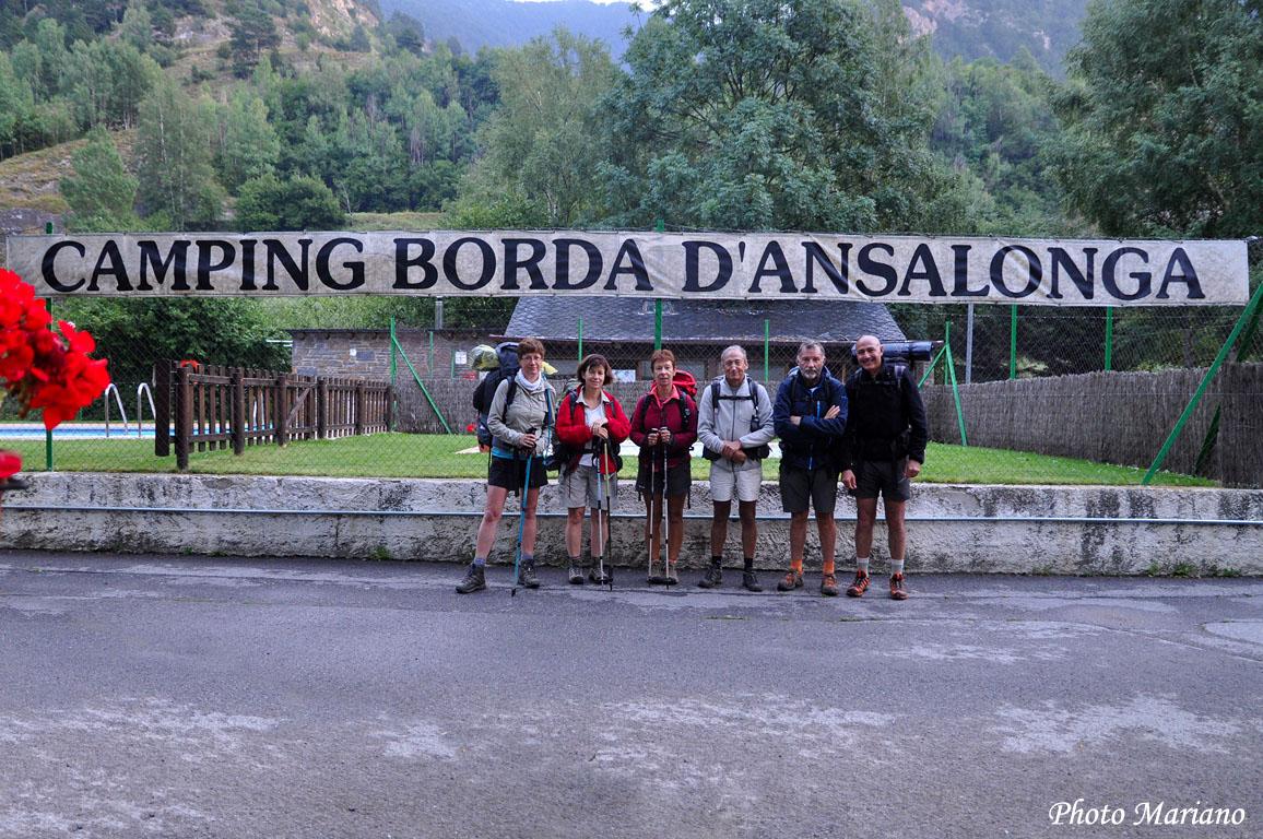 Traversée des Pyrénées 27em Etape (Camping Ansalonga – Encamp)