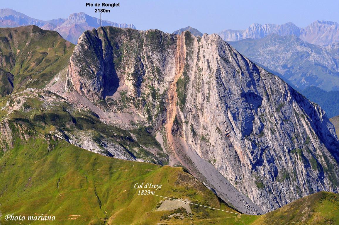 Randonnée Cabane Laiterine 1680m et ascension du Pic de Ronglet 2180m