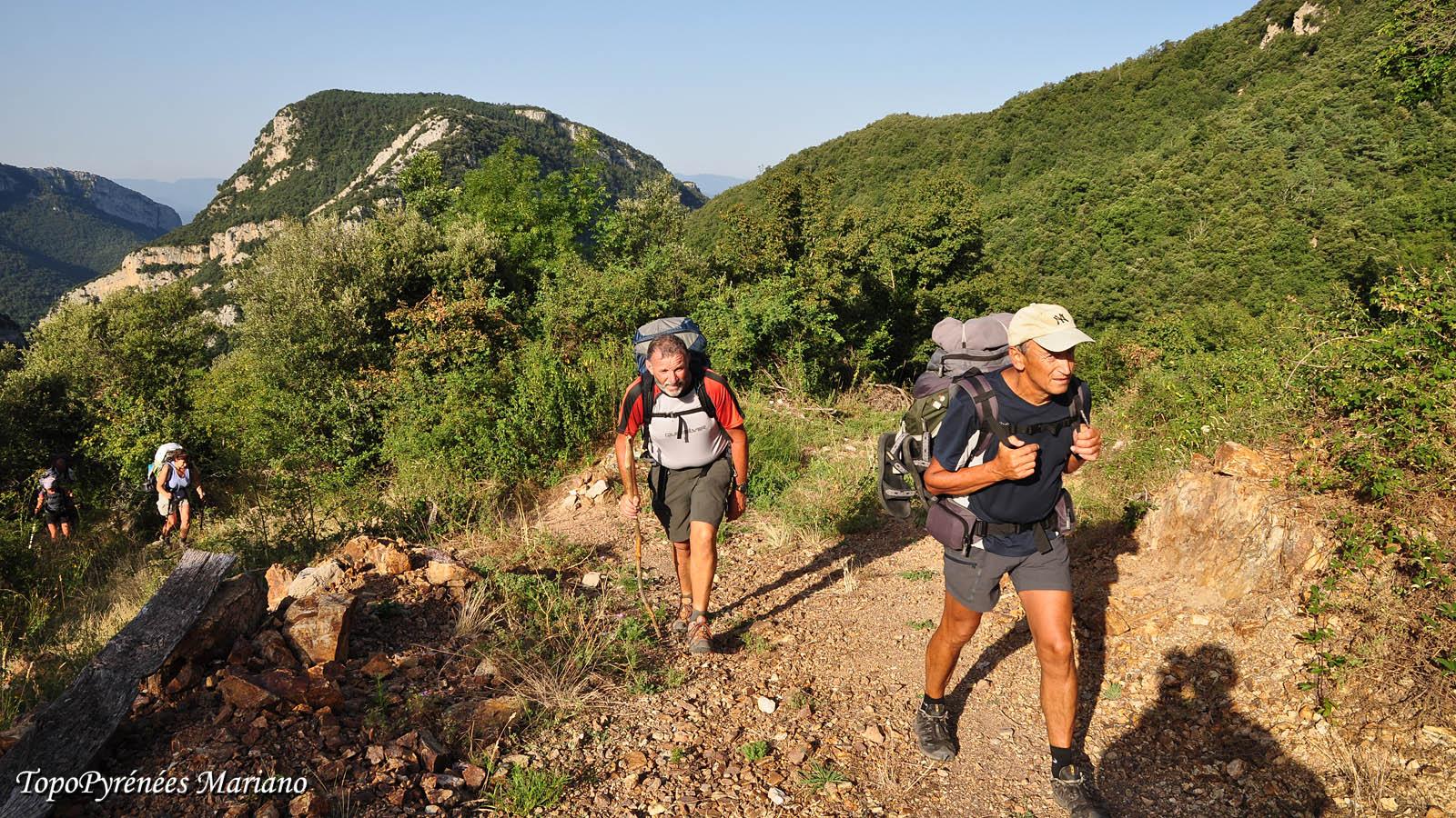 Traversée des Pyrénées 36em Etape (Gorges de San Aniol – Camping Albanyà)