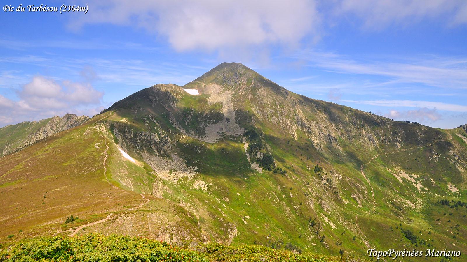 Randonnée Pic du Tarbésou (2364m)