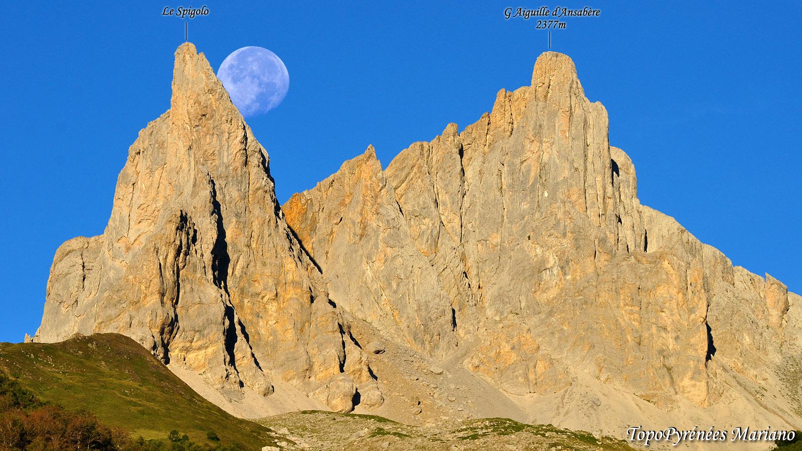 Ascension du Spigolo (Petite Aiguille d'Ansabère)