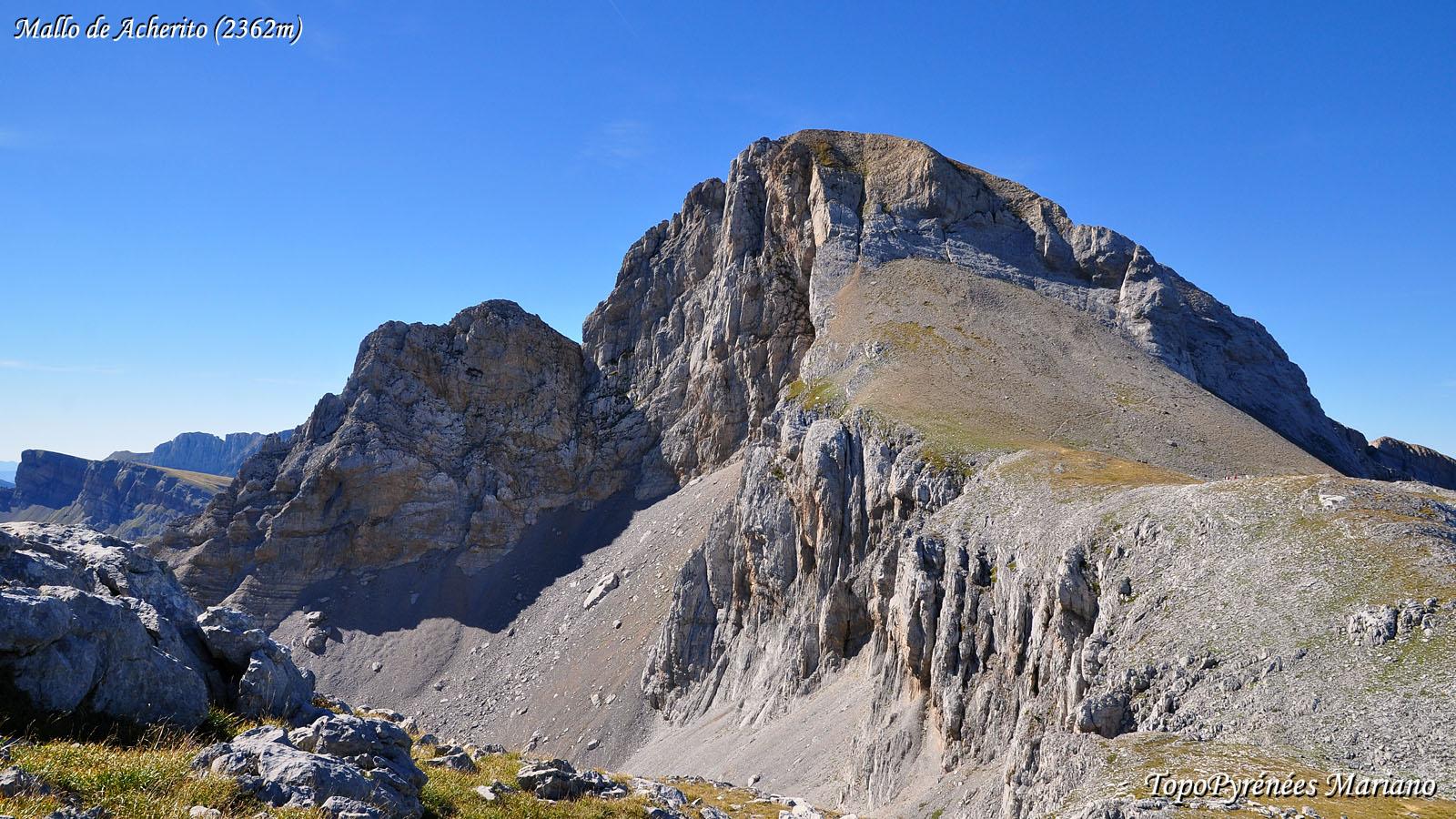 Randonnée Mallo de Acherito (2362m)