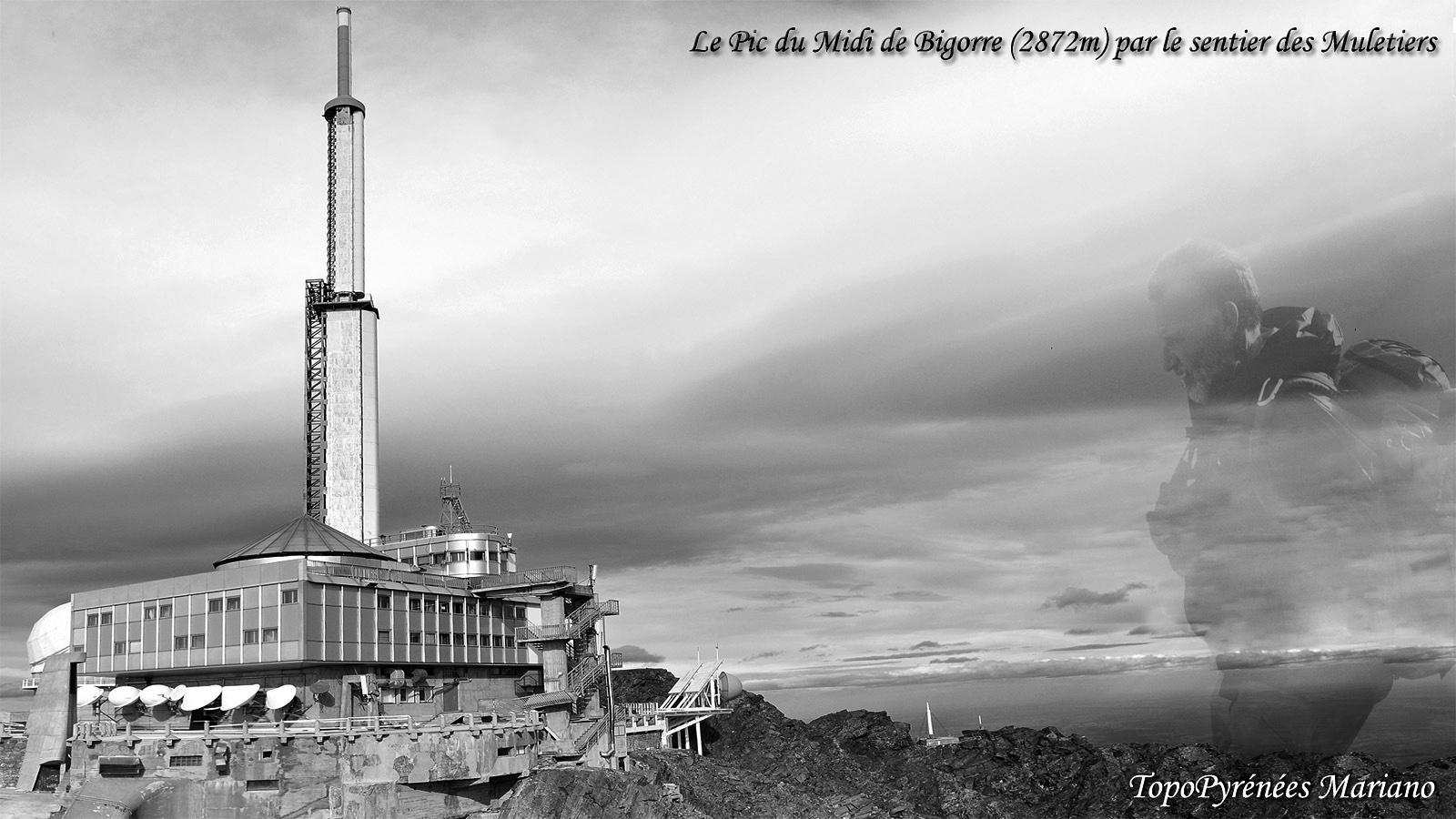 Pic du Midi de Bigorre (2872m) par le sentier des Muletiers
