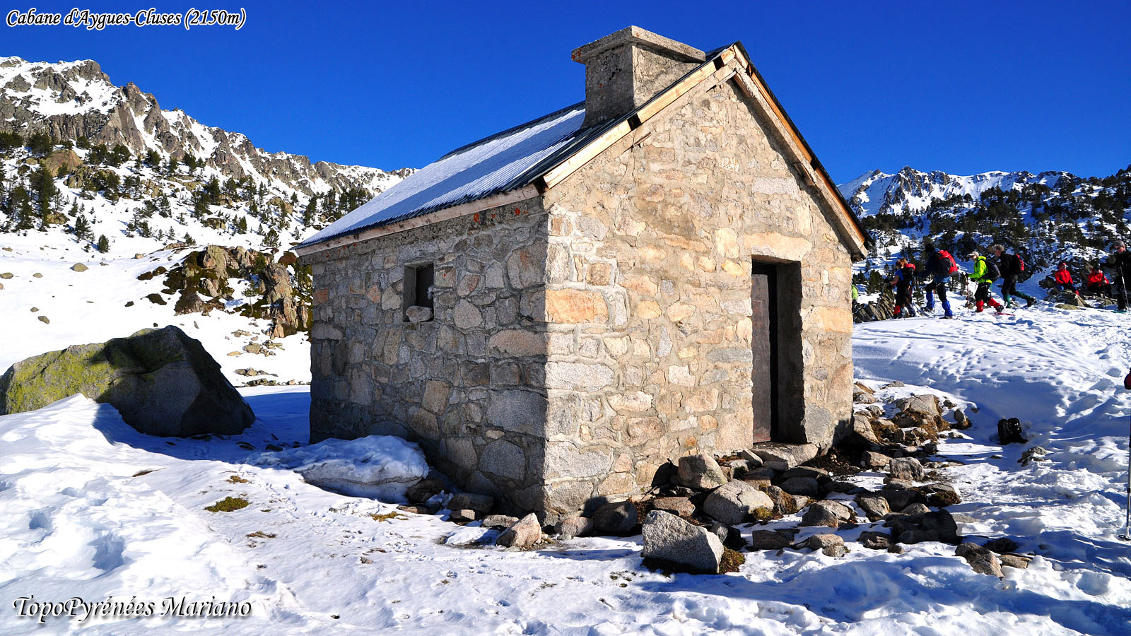 Raquettes cabane d'Aygues-Cluses (2150m)