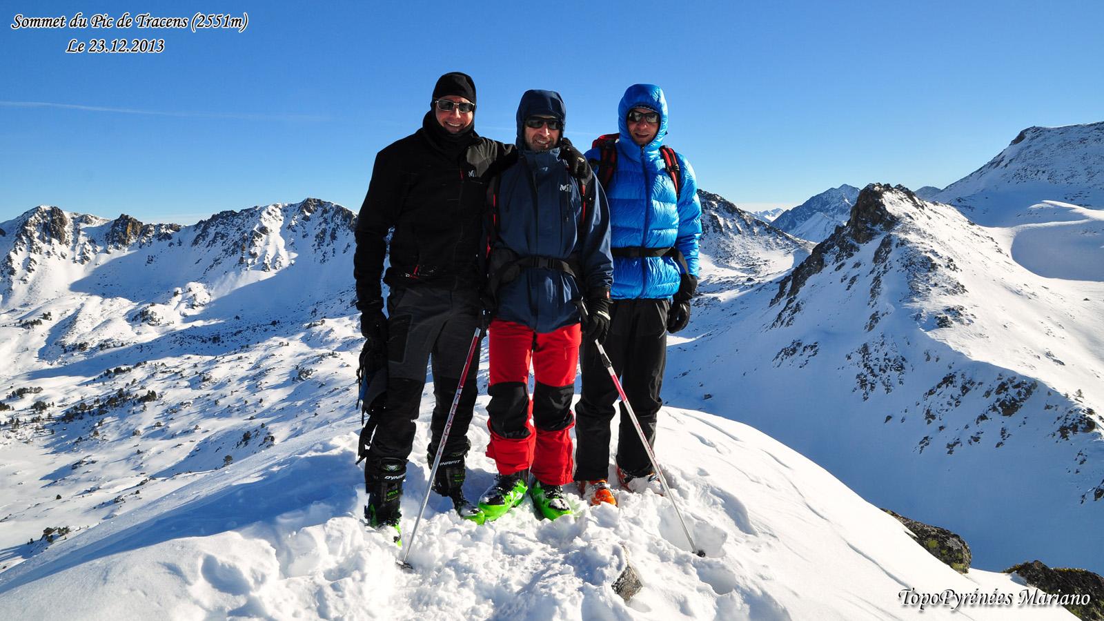 Ski Rando Pic de Tracens (2551m)