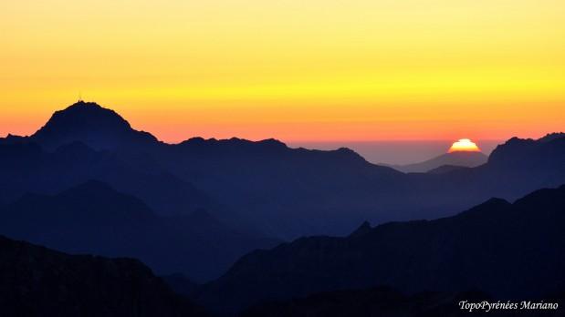 Bivouac au sommet du Balaitous (3144m)