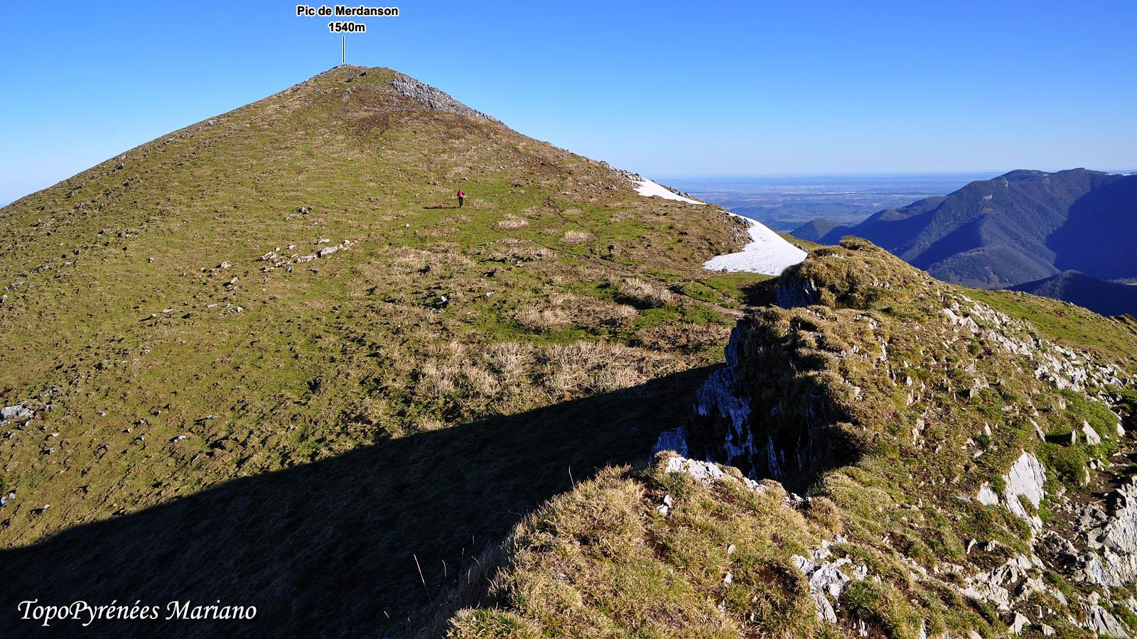 Randonnée Pic de Merdanson (1540m)
