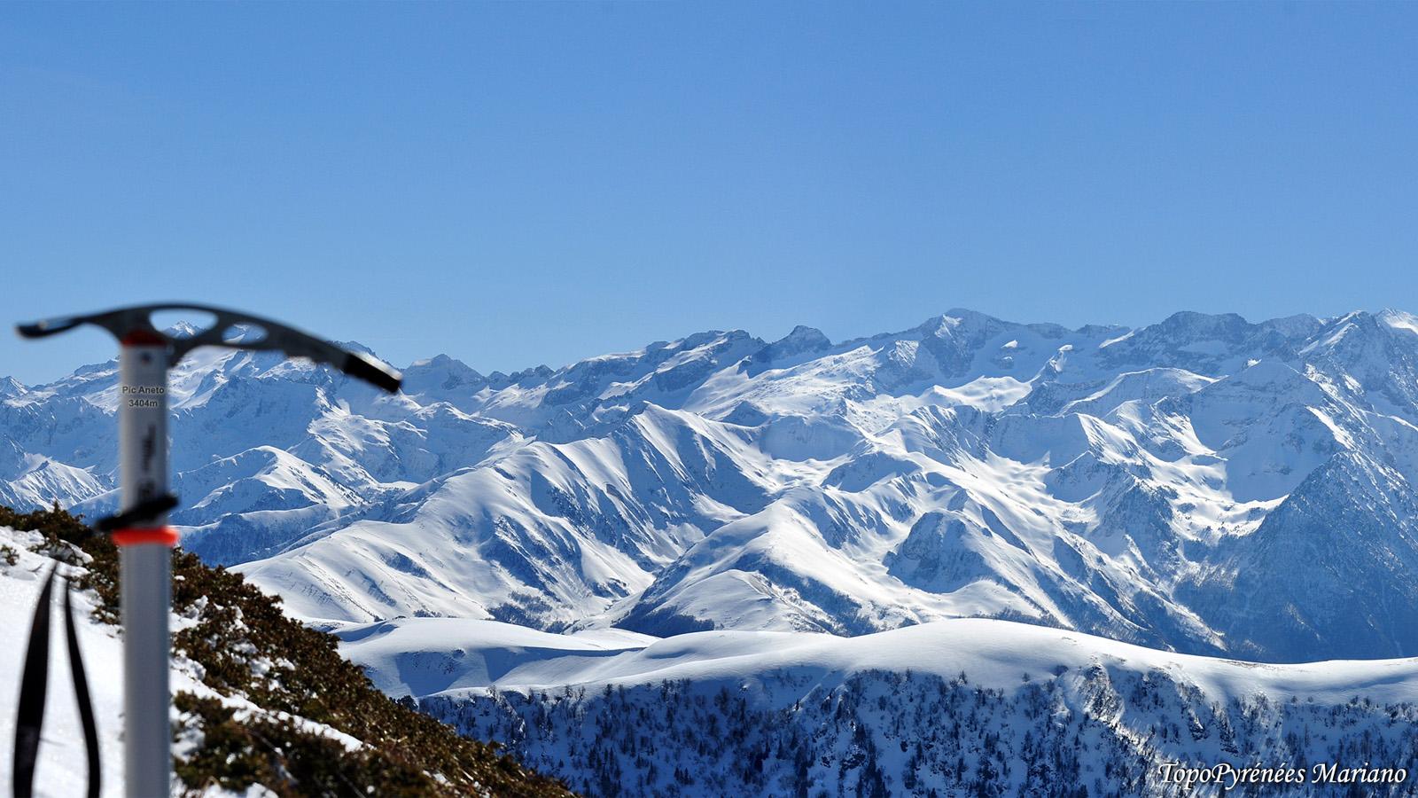 Raquettes au Mont Né (2147m)