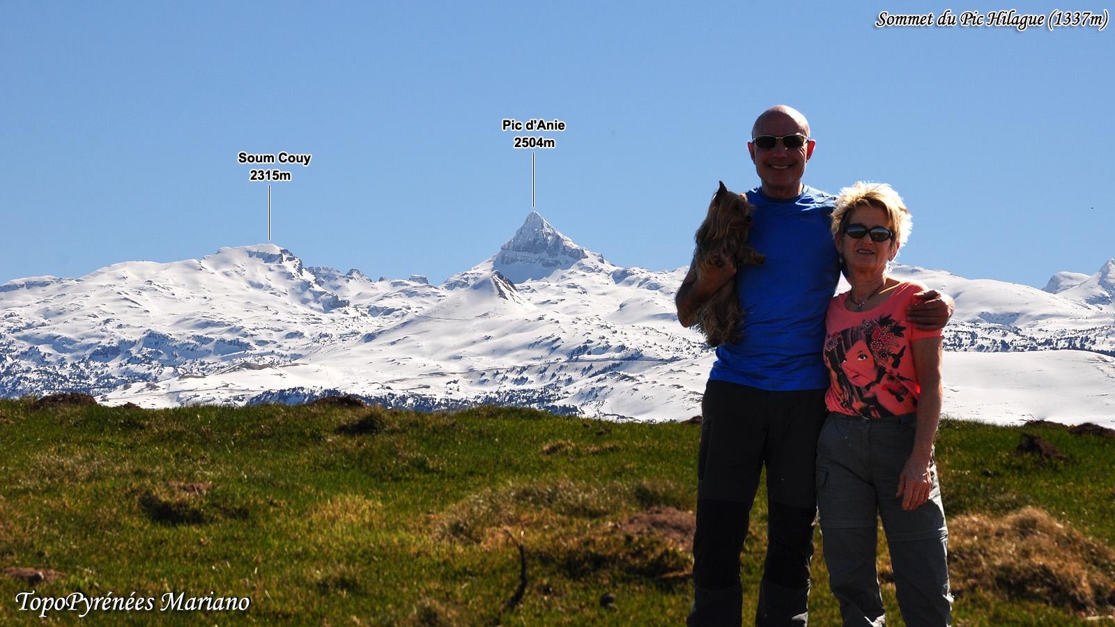 Randonnée Pic Harribeltzéta (918m) et Pic Hilague (1337m)