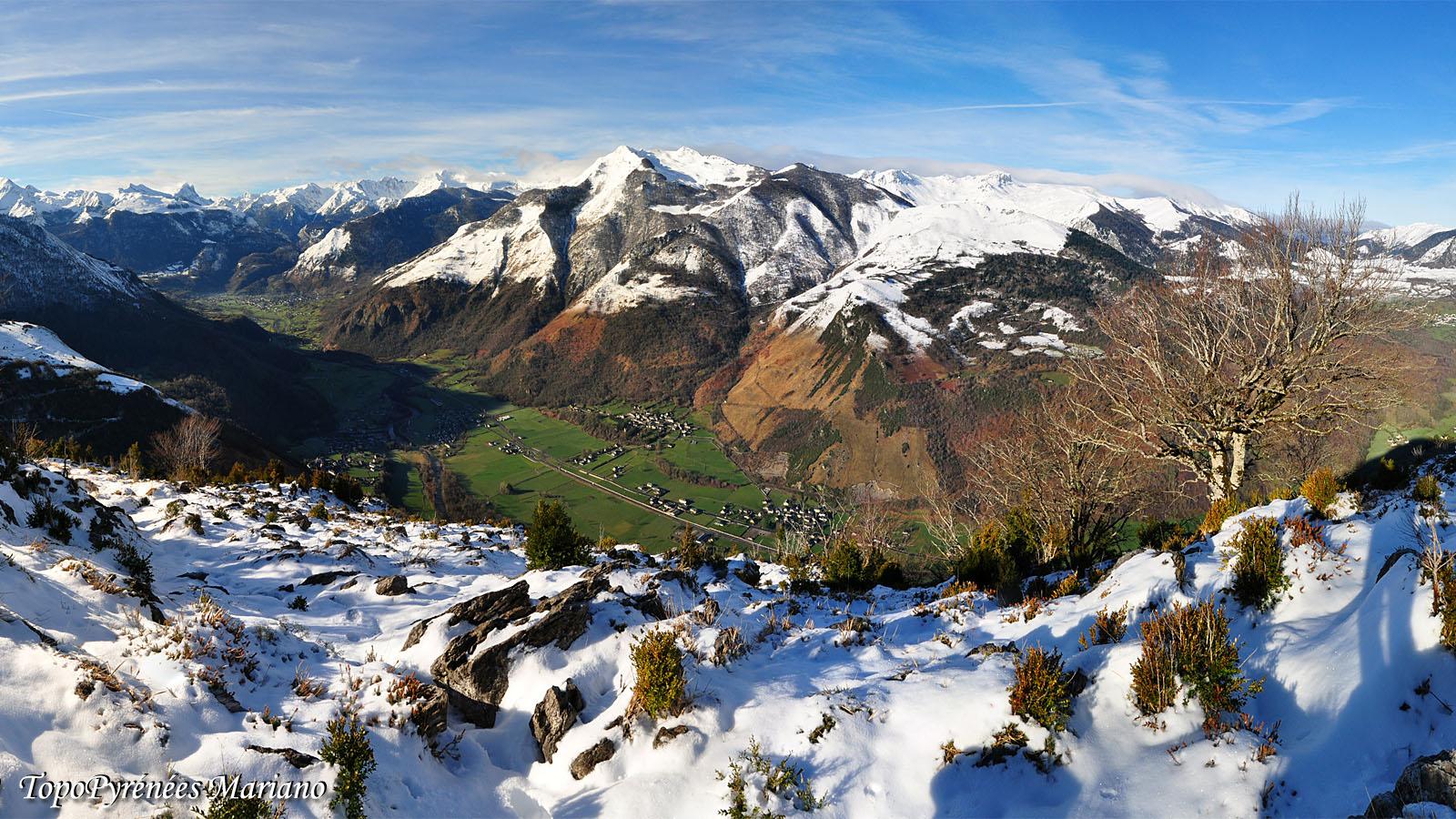 Raquettes Pène de Béon (1250m)