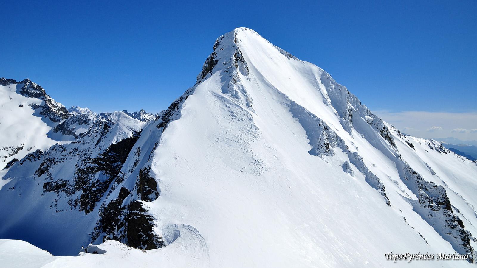 Raquettes au petit Pic d'Arriel 2683m