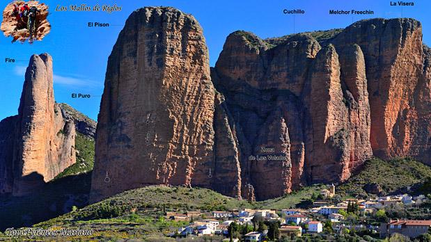 Randonnée sentier circulaire de los Mallos de Riglos (1038m)