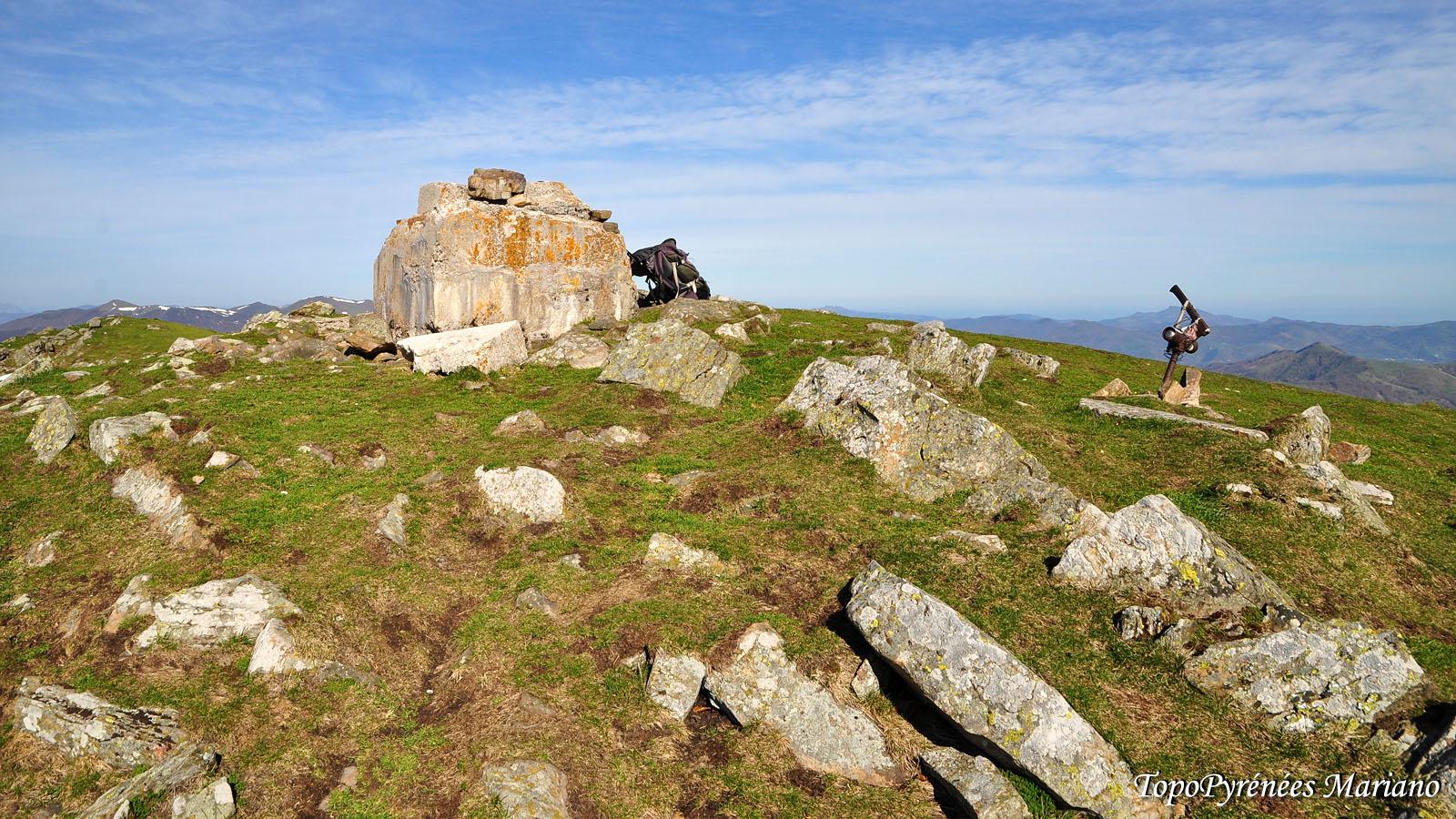 Randonnée Mont Ahadi (1458m) depuis Korrota