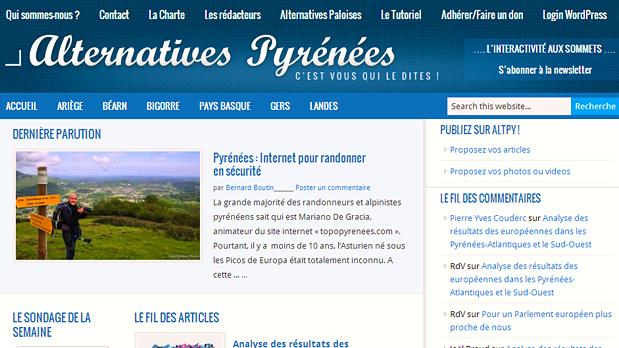 Article (Mariano) dans Alternatives Pyrénées