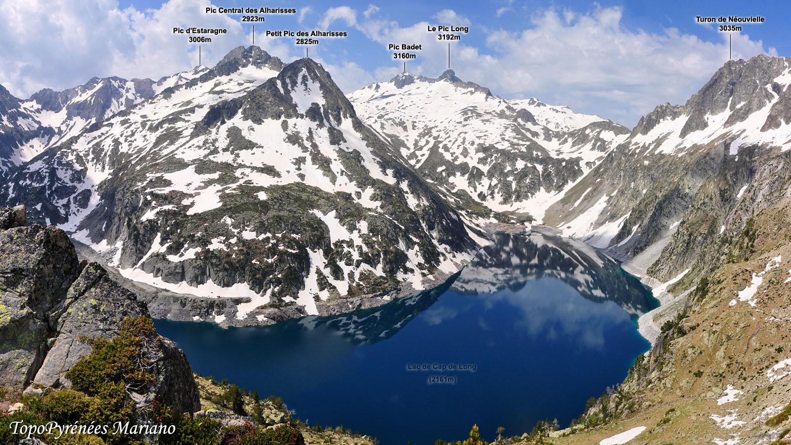 Randonnée Circuit des lacs du Néouvielle par le Pas du Gat (2465m)
