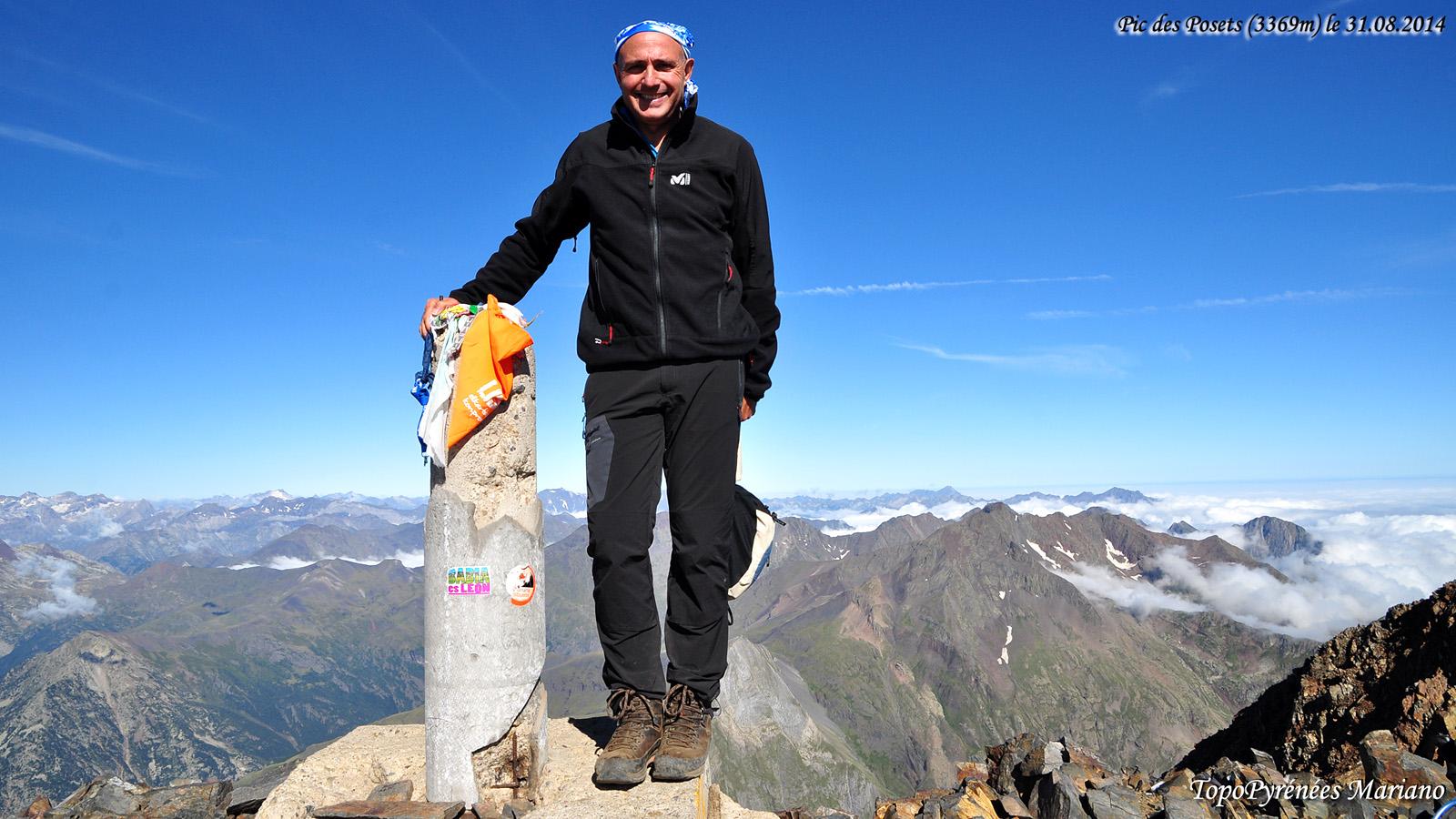 Randonnée Pic des Posets (3369m)