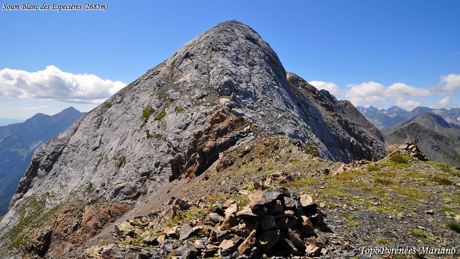 Randonnée Soum Blanc des Especières 2685m